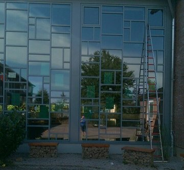 Tip Top Gebäudereinigung Seesen Glasfront