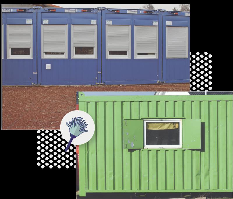 Tip Top Baucontainer Reinigung